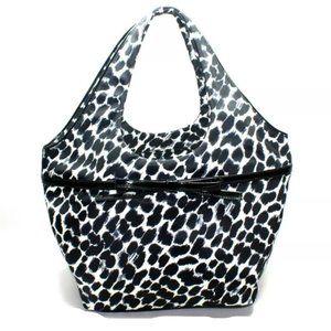 Kate Spade Tate Lindenwood Leopard Large Tote Bag